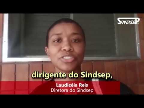NÃO À PRIVATIZAÇÃO DOS HOSPITAIS MUNICIPAIS || Laudicéia Reis, diretora do Sindsep, dá o recado
