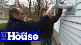 How to Install a Pellet Stove   This Old House
