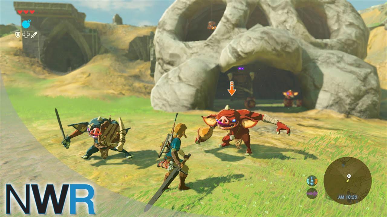 46 Minutes Of Zelda: Breath Of The Wild Gameplay
