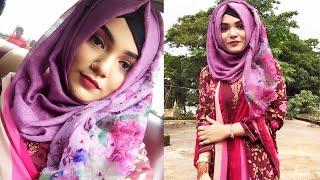 Party Hijab Style 2018 || Hijab Style With Dress/selwar Kamiz|| Mutahhara♥️