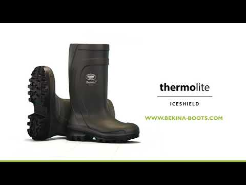 Thermolite IceShield, steel toe cap and midsole (S5), green