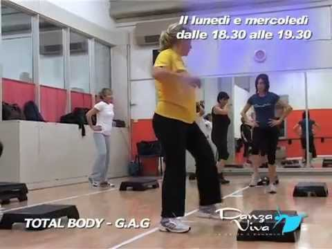 Preview video Seconda lezione di Total Body - G.A.G a scuola Danza Viva
