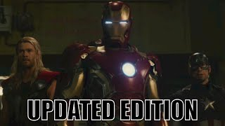 MARVEL CINEMATIC UNIVERSE IN CHRONOLOGICAL ORDER (UPDATED EDITION)