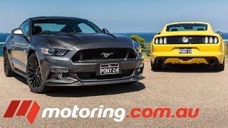 2016 Ford Mustang GT v EcoBoost Comparison