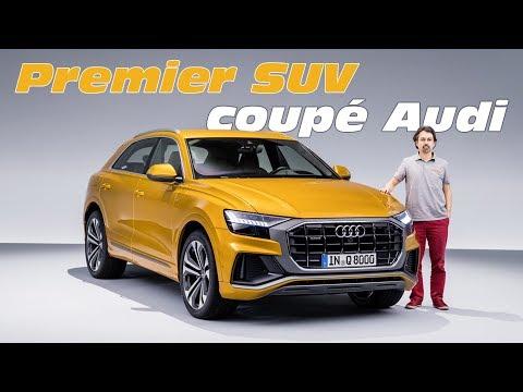 Audi Q8 : découverte du premier SUV coupé d'Audi