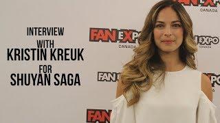 GameHaunt | Kristin Kreuk talks Shuyan Saga (02.09.17)