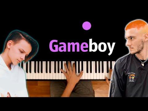 Pasha Leem, ЕГОР ШИП - GAME BOY ● караоке | PIANO_KARAOKE ● ᴴᴰ + НОТЫ & MIDI