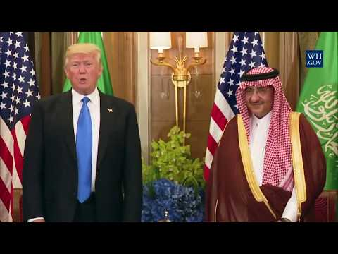 President Trump Participates in a Bilateral Meeting with the Crown Prince of Saudi Arabia