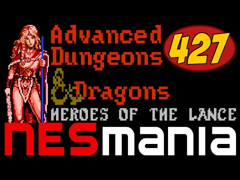 427/714 Advanced Dungeons & Dragons: Heroes of the Lance - NESMania