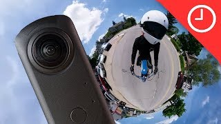 Ricoh Theta Z1 Review: 360 Camera with pro features