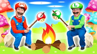 Super Mario Camping In Real Life