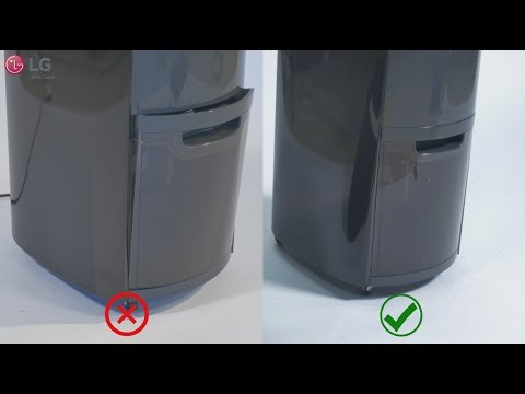 LG Dehumidifier - Troubleshooting