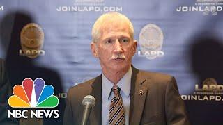 LAPD Details Assault On Three Homeless Men With Baseball Bat | NBC News