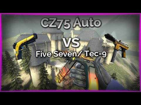 CZ75 Auto vs Five Seven/ Tec-9