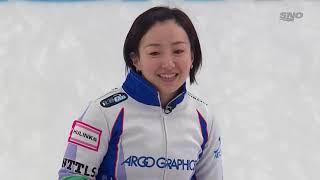 Satsuki Fujisawa pinball shot for a single | 2021 Humpty's Champions Cup image