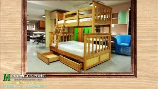 """Детская кровать Чердак от компании Мебельное ателье """"Константа"""" - видео 1"""