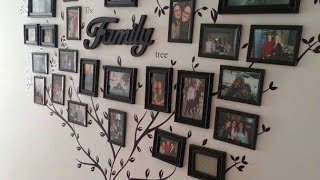 Best Family Tree Photo Frame Ideas #wall Decor