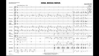 Soul Bossa Nova by Quincy Jones/arr. Paul Murtha