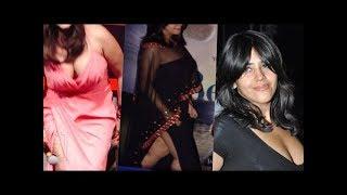 Ekta Kapoor Top 10 Cleavage Dresses in events