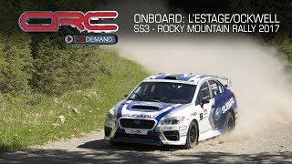 Rally - Invermere2017 Round2 Onboard with Lestage and Ockwell