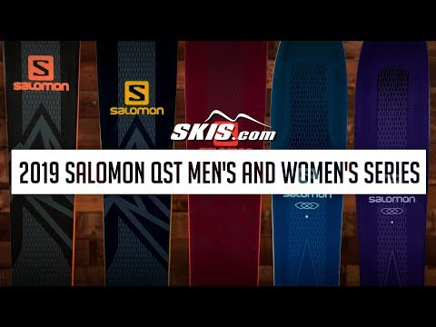 Video: 2019 Salomon QST Men