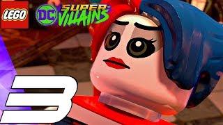 LEGO DC Super Villains - Gameplay Walkthrough Part 3 - Teen Titans Boss Fight (Full Game)