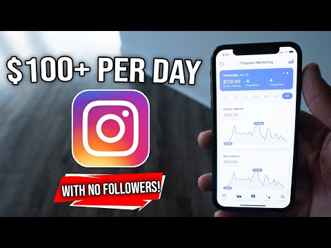 How To Make Money On Instagram With NO FOLLOWERS! (SUPER EASY)