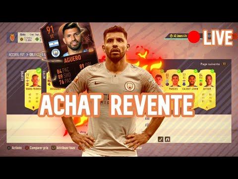 🔴 FIFA 20 LIVE 🔴 ACHAT REVENTE /  DETENTE TOTAL