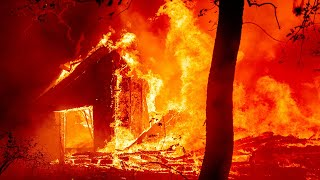 video: Watch: Napa Valley wildfire reduces homes to flaming shells