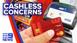 Cashless 'tap' options raising spending concerns | 9 News Australia