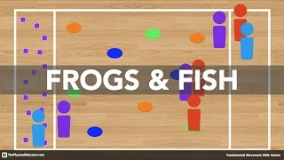 Frogs & Fish - Physical Education Game (Fundamental Movement Skills)