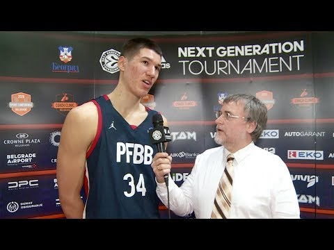 EB ANGT Belgrade MVP Interview: Daniel Batcho, U18 CFBB Paris