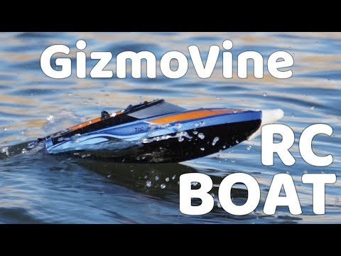 GizmoVine T02 RC High Speed Boat Review
