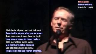 6 ► Les feuilles mortes ► Yves Montand