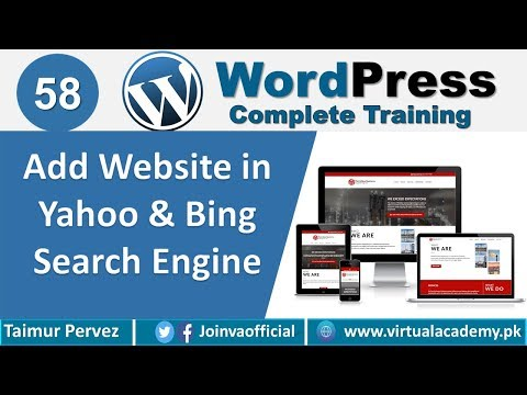 How to add Website in Yahoo & Bing Search Engine using ...