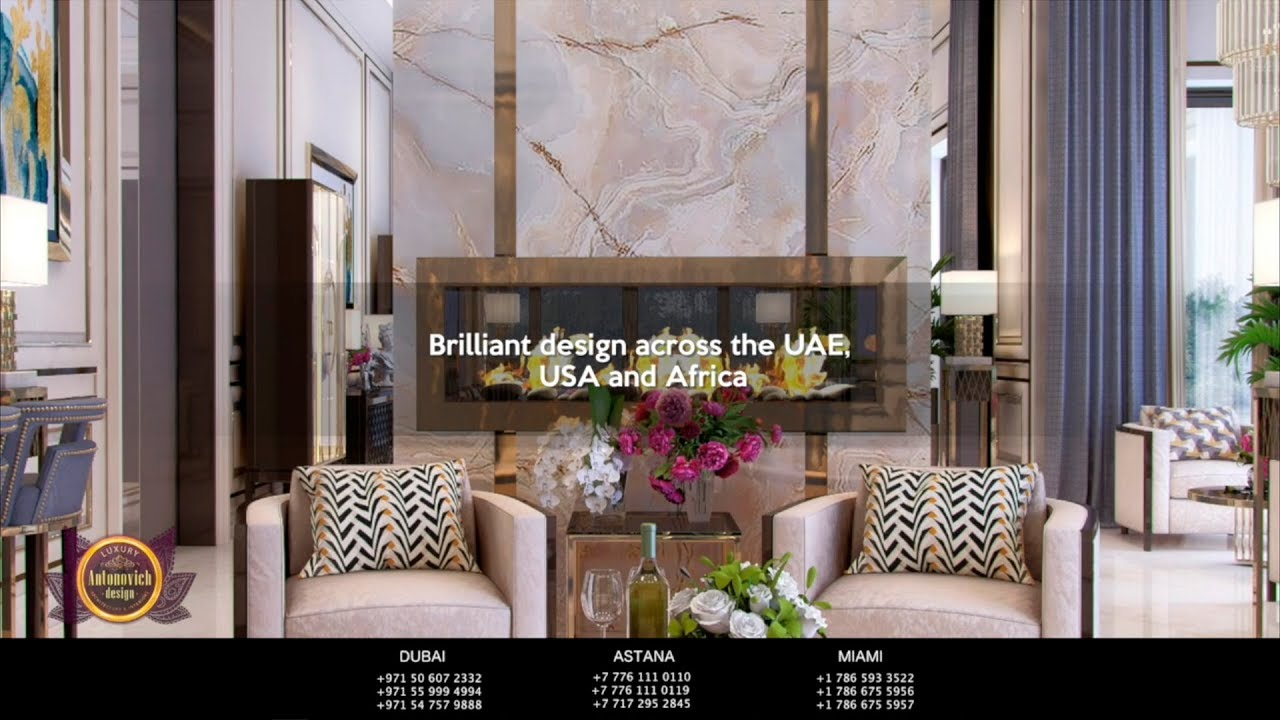 Ultra Modern Luxury Interiors 2018!
