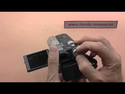 Comprobación de una videocámara doméstica de formato miniDV
