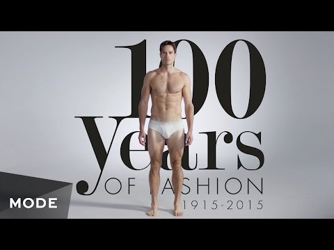 100 Years of Men's Fashion in 3 Minutes ★ Mode.com