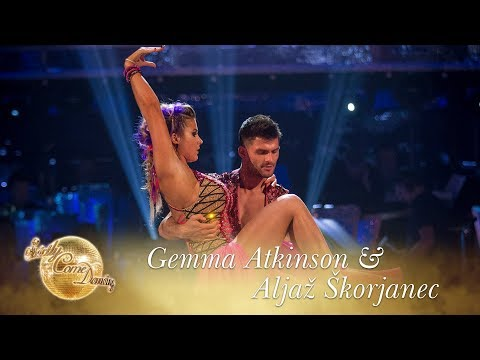 Gemma Atkinson & Aljaž Skorjanec Paso Doble to 'Viva La Vida' by Coldplay – Strictly 2017