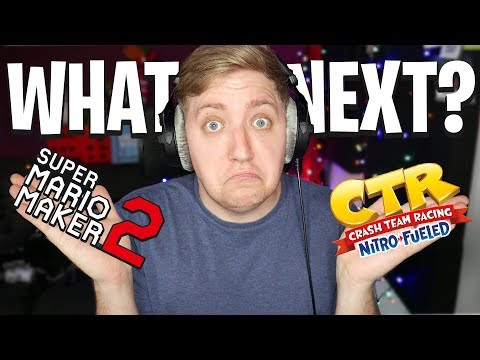 What's Next? - Mario Maker 2, Crash Nitro Fueled + 1.5 Million Subscribers