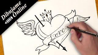 Comment Dessiner Un Coeur