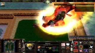 Cuộc đại chiến giữa Naruto với Ma bư trong Warcraft 3