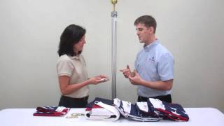 How to Attach Flag Snap Hooks LibertyFlags.com