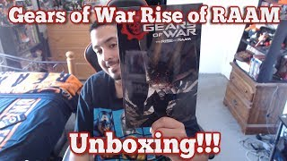 Gears of War Rise of RAAM Comic Unboxing!!!