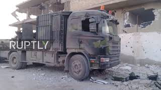Syria: SAA reclaims strategic town of Mesraba in Eastern Ghouta