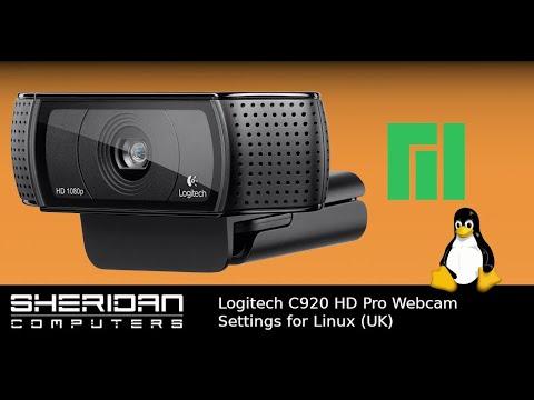 Logitech C920 HD Pro Webcam - Linux Settings (UK) - Fix Flicker