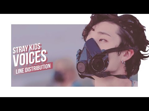 Stray Kids - Voices Line Distribution (Color Coded) | 스트레이 키즈