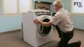 GE Dryer Repair – How to replace the Drum Slide