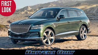 2021 Genesis GV80 - First Look At This Luxury Midsize SUV