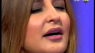 HQ!! Shatha Sings for Iraq شذى حسون وموال عراقي راائع